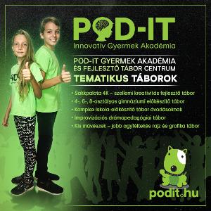 POD-IT Gyermekakadémia nyári táborok
