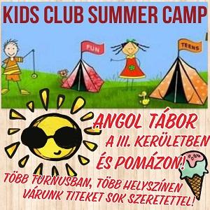 LCF Kids Club nyelvtáborok