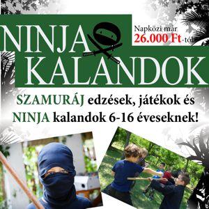 Ninja Kalandok Nyáritábor