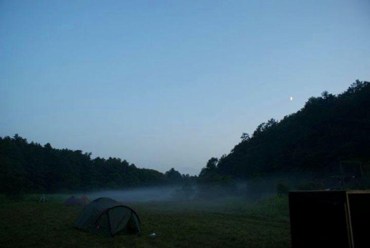 Süni sátortábor a Bakonyban